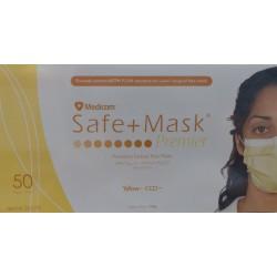 MEDICOM SAFE MASK 黃色口罩