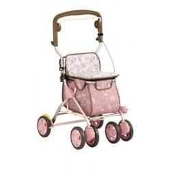 Tacaof SIMD01 助行手推車中型花粉紅色