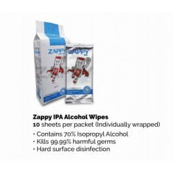 ZAPPY IPA ALCOHOL WIPES 酒精消毒濕巾