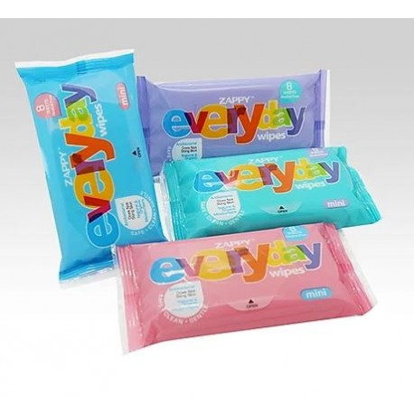 Zappy Everyday Mini 8s Wipes