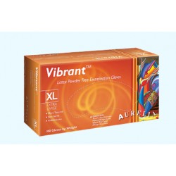 Vibrant® 乳膠無粉檢查手套