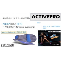 CURREXSOLE ACTIVEPRO 運動鞋墊